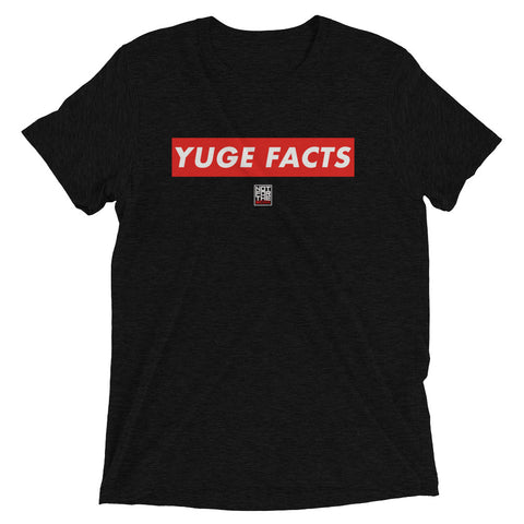 YUGE FACTS TEE - BLACK