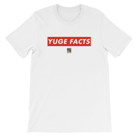 YUGE FACTS TEE - WHITE