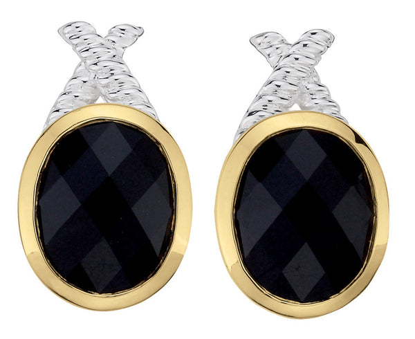 Colores SG Onyx Earrings