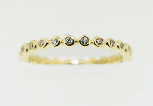 Frederick Goldman 14k Yellow Gold Band
