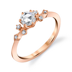 """Lumiere"" 18k Rose Gold Engagement Ring"