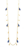 Vermeil and Lapis Necklace