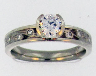 "Toby Pomeroy ""311 Studio"" Garden Gate Engagement Ring"