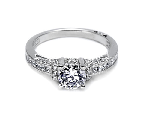 Tacori 2609RD6W Engagement Ring