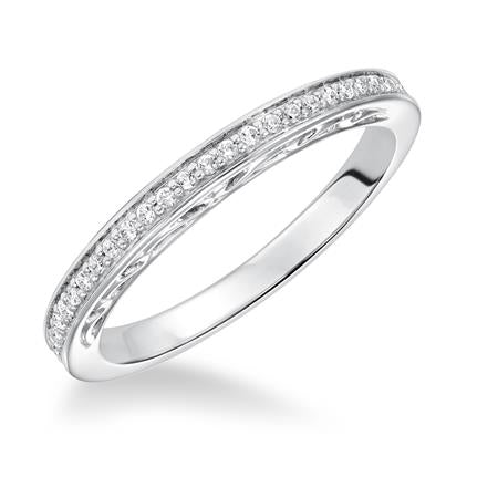Frederick Goldman 14k White Gold Band