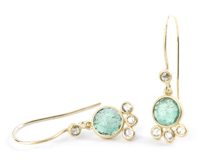 "Heritage Collection ""Fond"" Emerald Earrings"