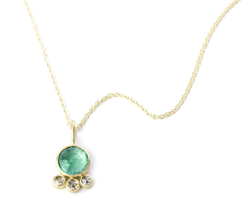 "Heritage Collection ""Fond"" Emerald Necklace"
