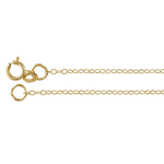 14k Yellow Gold Cable Chain