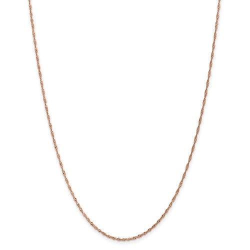 Rose Gold Singapore Chain