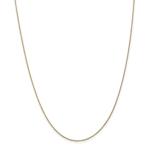 "14k Yellow Gold 18"" Cable Chain"