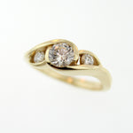 14k Yellow Gold Locally Made Engagement Ring