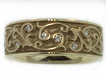 "Toby Pomeroy ""311 Studio"" 14K Yellow Gold Diamond Band"