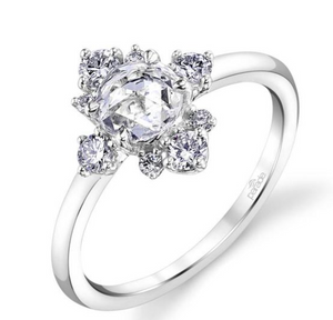 "Parade ""Lumiere"" 18K White Gold Diamond Engagement Ring"