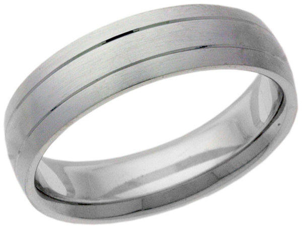 Sterling Silver Matte Ring