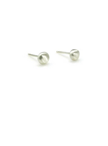 Sterling Silver Round Stud