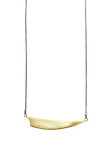 Gold Vermeil Triangle Necklace