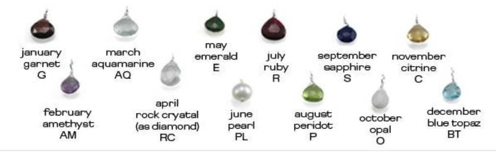 Birthstone Necklaces