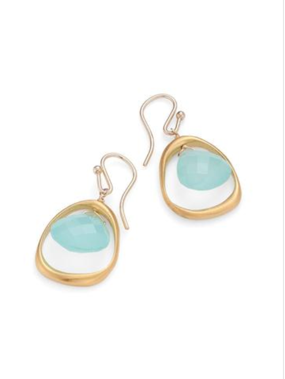 Chalcedony Vermeil Earrings