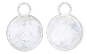 Sterling Silver Moonstone Jackets