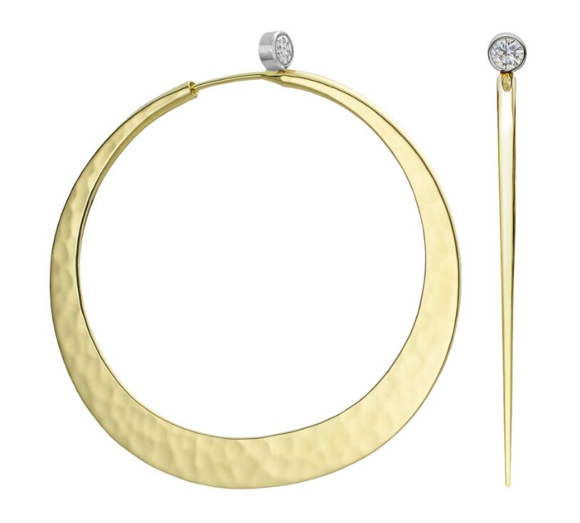 Brilliant Eclipse Diamond Hoops