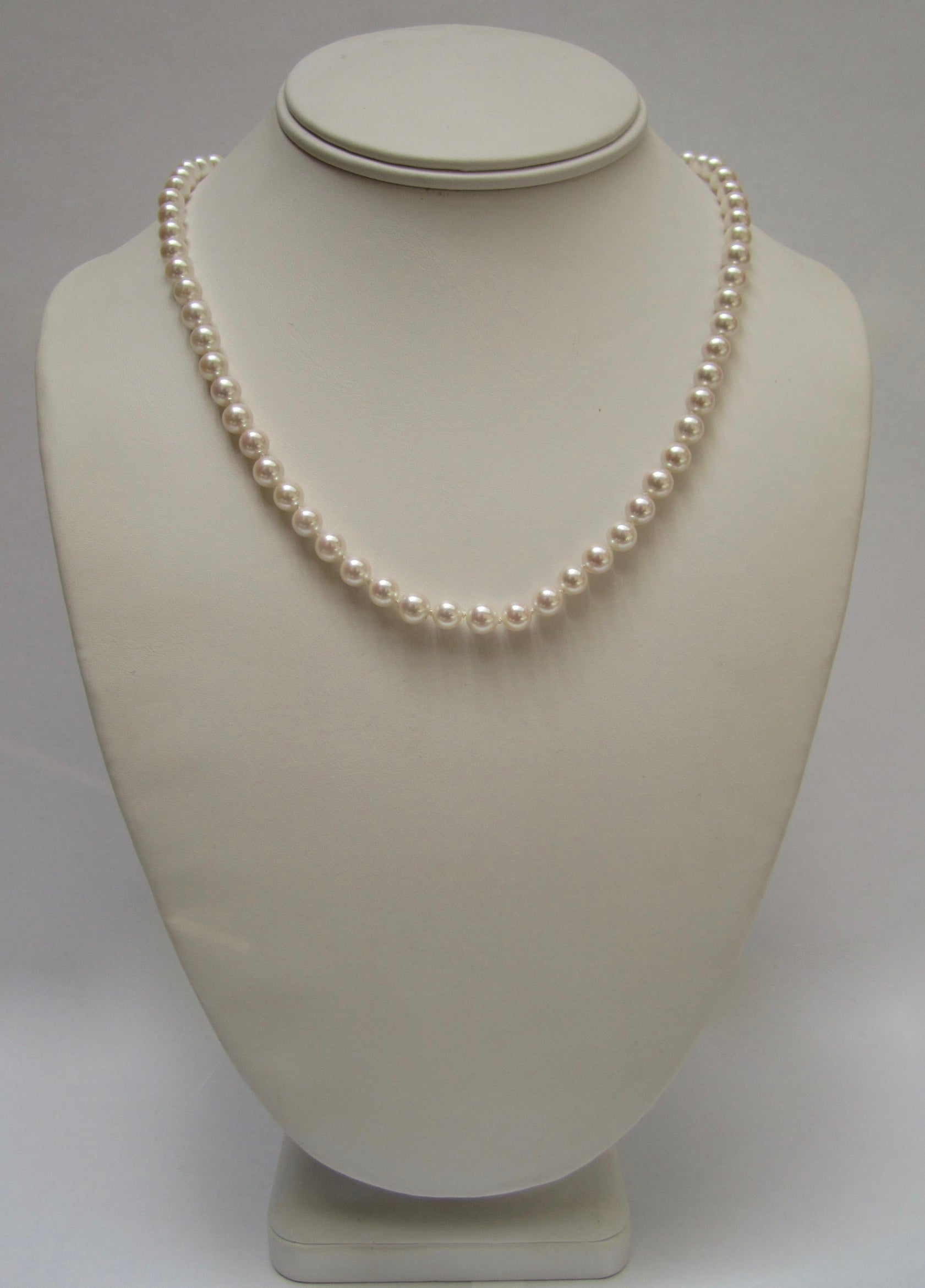 "18"" Single Strand Cultured Pearls"