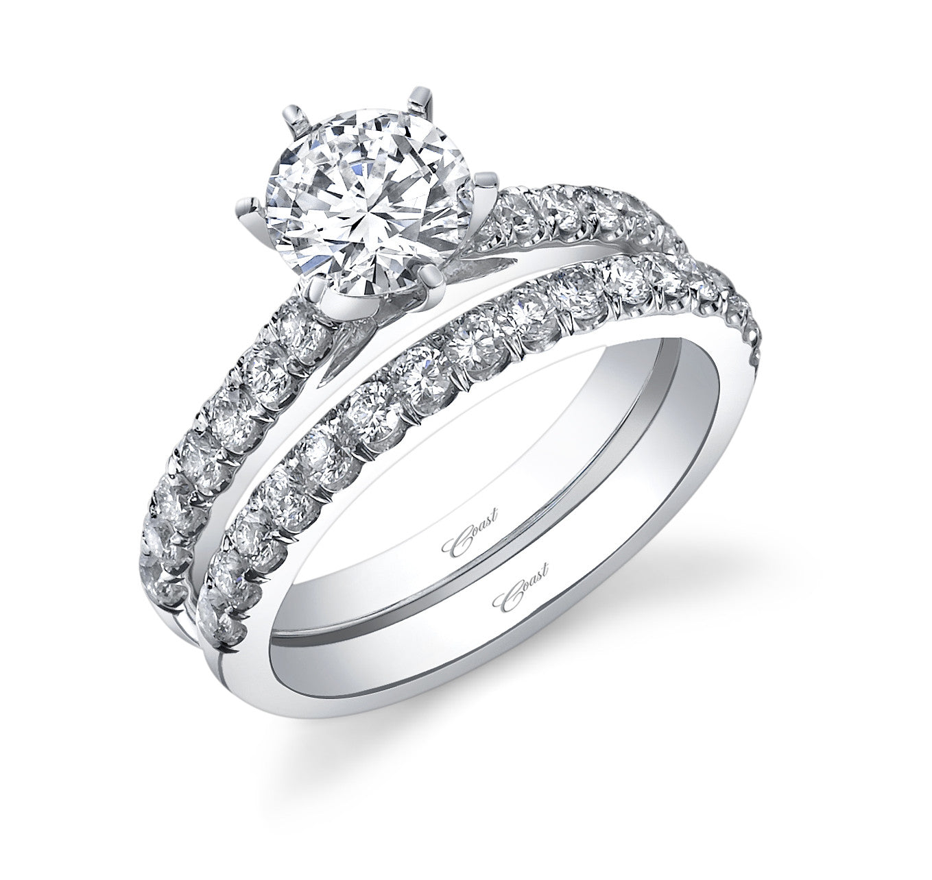 Coast Diamond Engagement Ring LC5287