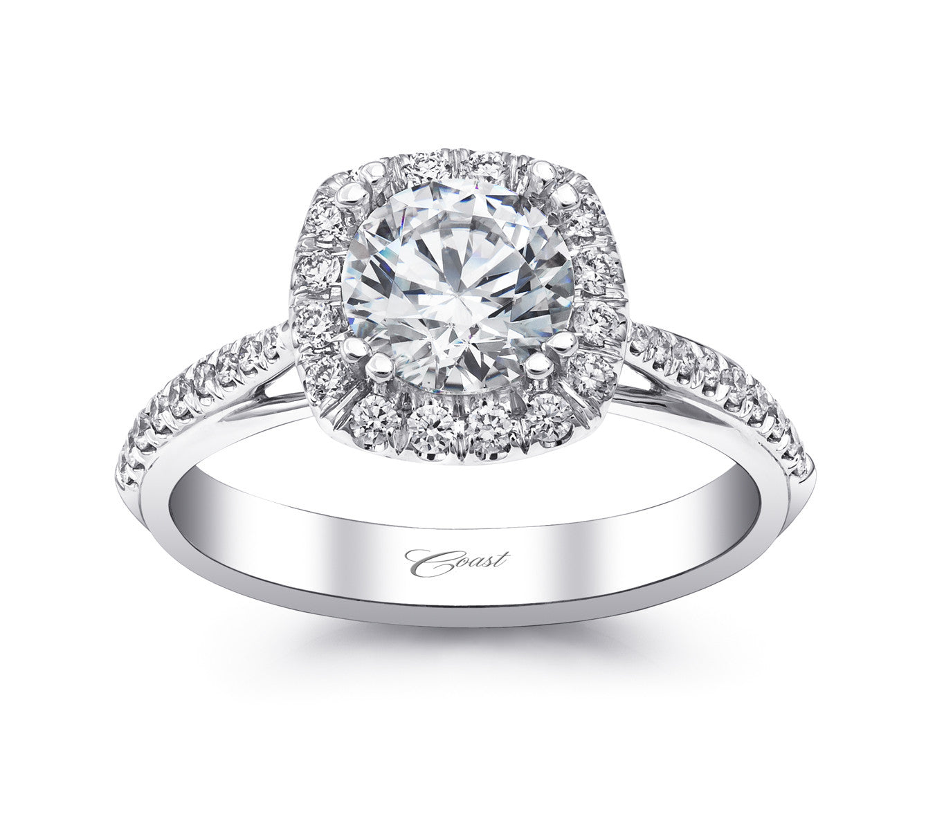 Coast Diamond Engagement Ring LC5356