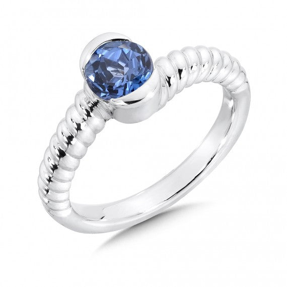 Colores SG Blue Sapphire Ring