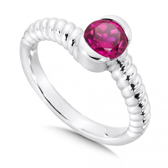 Colores SG Created Ruby Ring