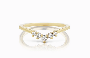 ManiaMania 14K Yellow Gold Constellation Diamond Band
