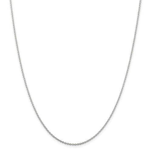 "20"" Sterling Silver 1.5mm Cable Chain"