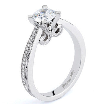 Michael M. Collection R568-0.75 Engagement Ring
