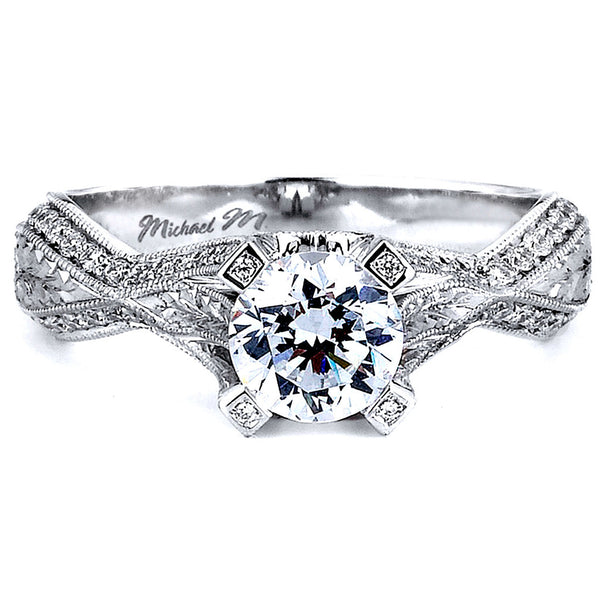 Michael M. R585-0.75 Engagement Ring