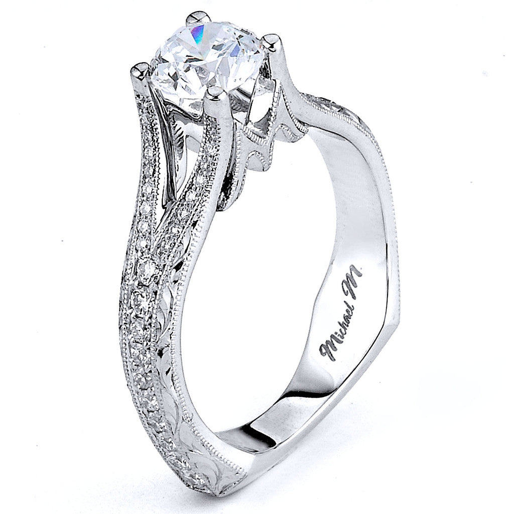 Michael M. R592-0.75 Engagement Ring