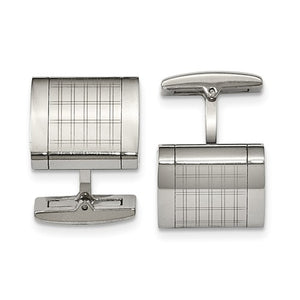 Stainless Steel Cuff Links