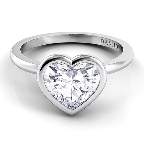 Lady Gaga-inspired heart-shaped engagement ring. | BMJ Blog
