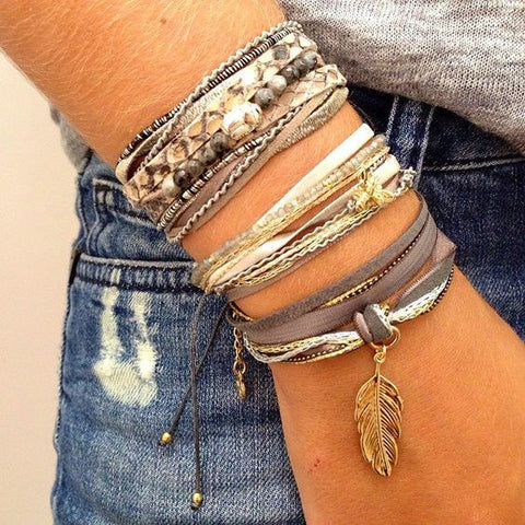 How to Stack Bracelets | Barbara Michelle Jacobs Blog