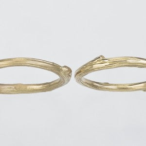 Twig Ring in Satin and Polished Finishes