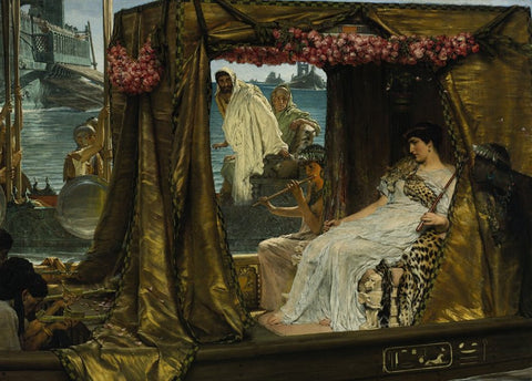 The Legend of Cleopatra and the Pearl