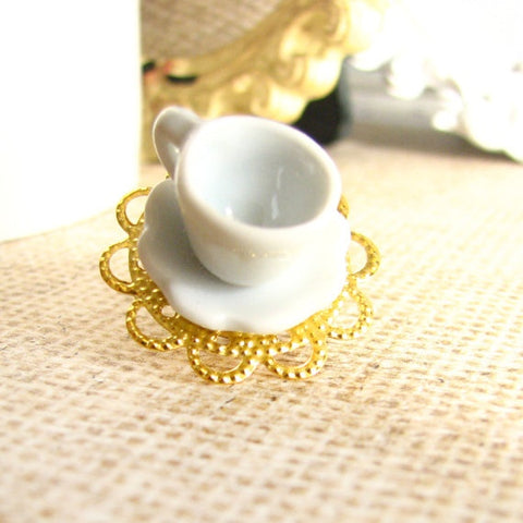 Coffee or Tea Cup Brooch