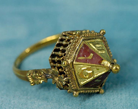 "The Fascinating History of Antique Jewish ""House"" Wedding Rings 