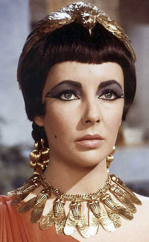 Cleopatra, recycled gold, elizabeth taylor