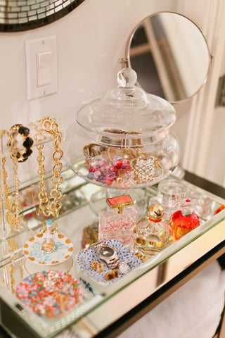 Pretty Ways to Display Your Jewelry | Barbara Michelle Jacobs Blog