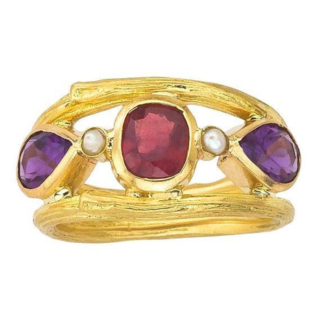 February Birthstone: Amethyst | Barbara Michelle Jacobs Jewelry