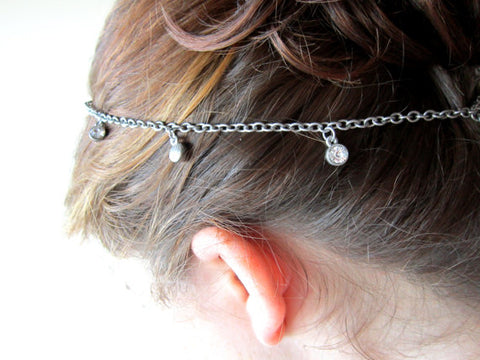 DIY Jewelry Hair Pieces | Barbara Michelle Jacobs Jewelry