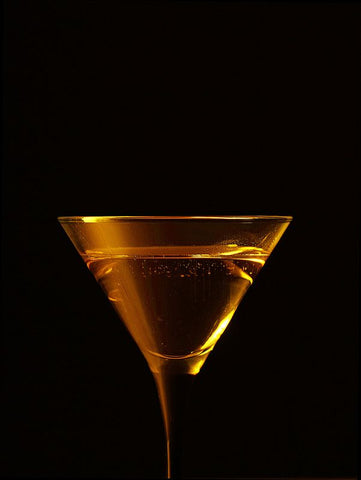 Holiday Drink Recipes: Vodka with Gold Leaf