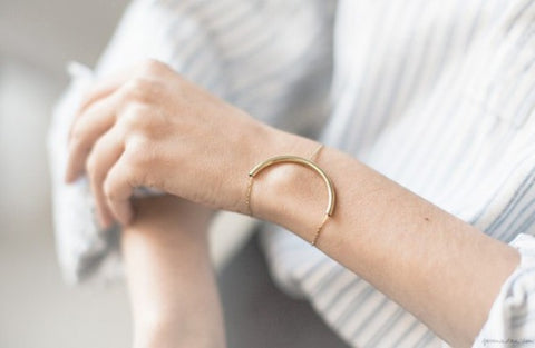Minimalist Jewelry | Pare down your hardware, press the reset button on your style, and try some of these crisp and elegant pieces. | BMJ Blog