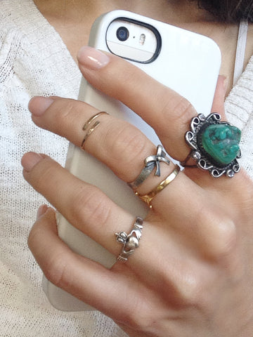 rings large gold to stacked blog ring barbara how jacobs stack jewelry michelle blogs silver