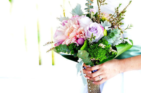 Even if you can't swing a completely green wedding, you can still focus on making some aspects of the ceremony eco-conscious. Your floral arrangements can be one of these areas. The following are a few tips to help you green your wedding-day flora. | BMJ Blog