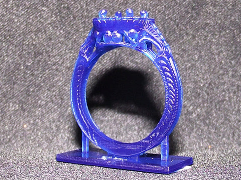 Ring made with the lost wax casting process. | BMJ Blog